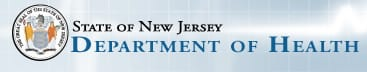 State of New Jersey Department of Health