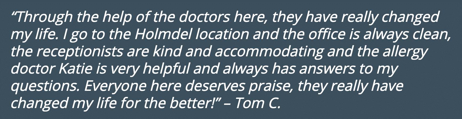 Patient Testimonials Coastal ENT